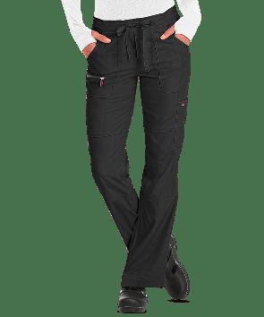koi Lite™ Scrubs Women's Peace Drawstring Waist Slim Fit Pants